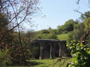 Randonnée sur les traces de l'Aqueduc romain du Gier